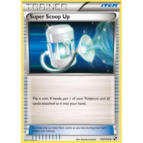 Buy Super Scoop Up - 103/114 and more Great Pokemon Products at 401 Games