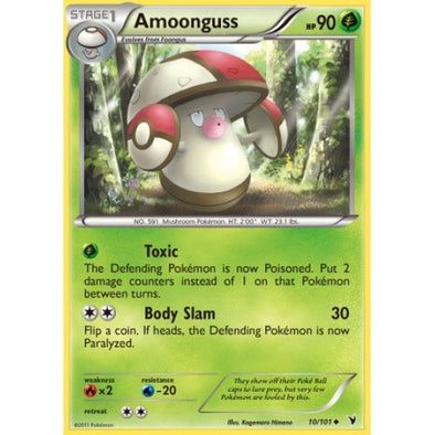 Buy Amoonguss - 10/101 - Reverse Foil and more Great Pokemon Products at 401 Games