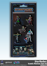 Buy Starfinder Miniatures - Iconic Heroes - Set 2 and more Great RPG Products at 401 Games