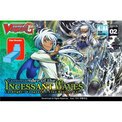 Buy Cardfight!! Vanguard - GCB02 - Commander of the Incessant Waves Booster Box and more Great Cardfight!! Vanguard Products at 401 Games