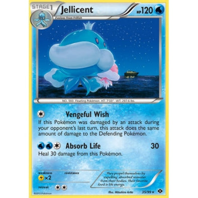 Jellicent - 35/99 - Reverse Foil (NXD035R) available at 401 Games Canada