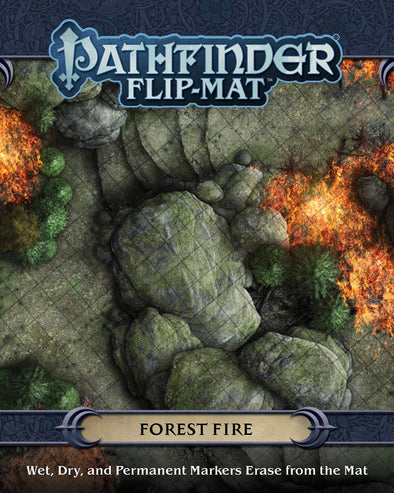 Buy Pathfinder - Flip-Mat - Forest Fire and more Great RPG Products at 401 Games