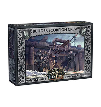 A Song of Ice and Fire - Tabletop Miniatures Game - Night's Watch - Builder Scorpion Crew - 401 Games