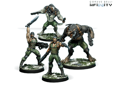 Infinity - Ariadna - Dog-Warriors - 401 Games