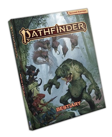 Buy Pathfinder 2nd Edition - Bestiary (Pre-Order) and more Great RPG Products at 401 Games