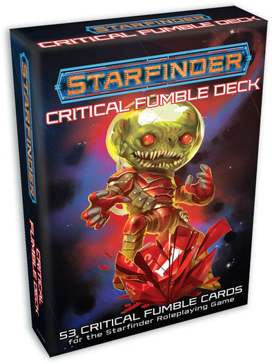 Buy Starfinder - Cards - Critical Fumble Deck and more Great RPG Products at 401 Games