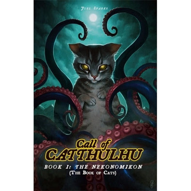 Cats of Catthulhu - Book 1: The Nekonomikon - Core Rulebook - 401 Games