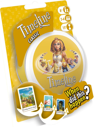 Buy Timeline - Classic and more Great Board Games Products at 401 Games