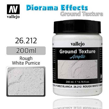 Vallejo - Diorama Effects - Ground Texture - Rough White Pumice - 401 Games