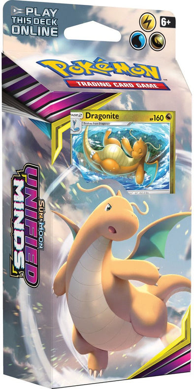 Buy Pokemon - Unified Minds Theme Deck - Dragonite (Pre-Order July 29th, 2019) and more Great Pokemon Products at 401 Games