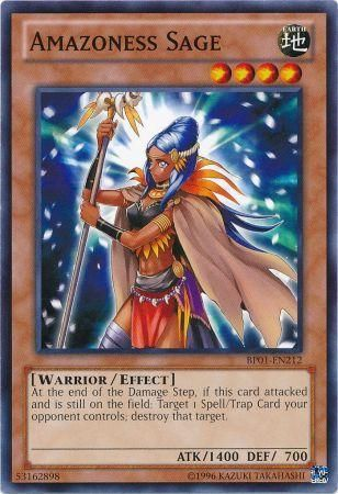 Amazoness Sage - (Starfoil Rare) (BP01) available at 401 Games Canada