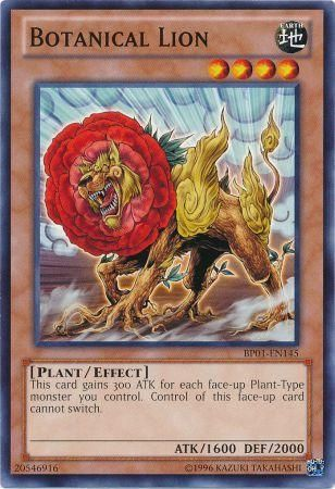 Botanical Lion - (Starfoil Rare) (BP01) available at 401 Games Canada