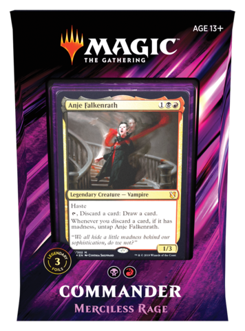 MTG - Commander 2019 - Merciless Rage available at 401 Games Canada