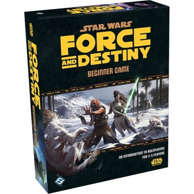 Buy Star Wars: Force and Destiny - Beginner Box and more Great RPG Products at 401 Games