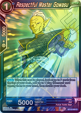 Respectful Master Gowasu (FOIL) available at 401 Games Canada