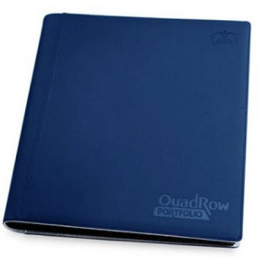Buy Ultimate Guard - 8 Pocket Quadrow Folio Xenoskin Sideloading Binder - Dark Blue and more Great Sleeves & Supplies Products at 401 Games