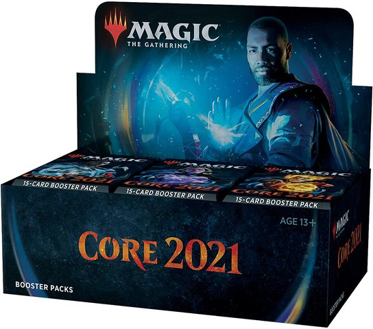 MTG - Core Set 2021 - English Booster Box - 401 Games