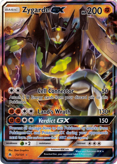 Buy Zygarde-GX - 73/131 and more Great Pokemon Products at 401 Games