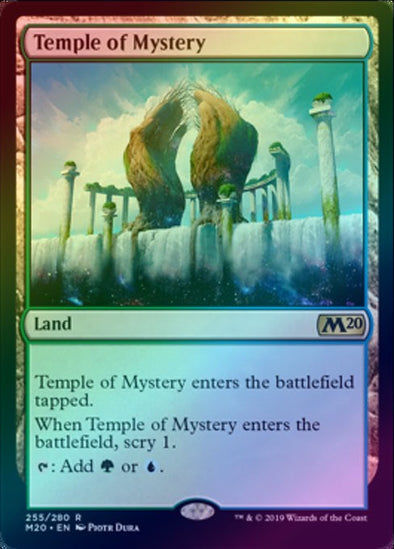 Temple of Mystery (Foil) (M20) - 401 Games
