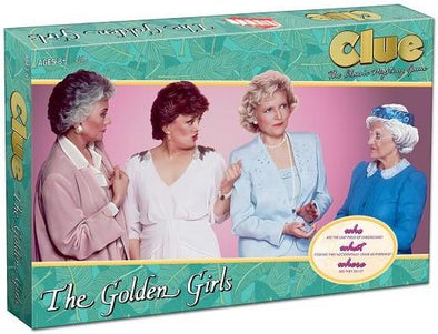 Buy Clue - Golden Girls and more Great Board Games Products at 401 Games