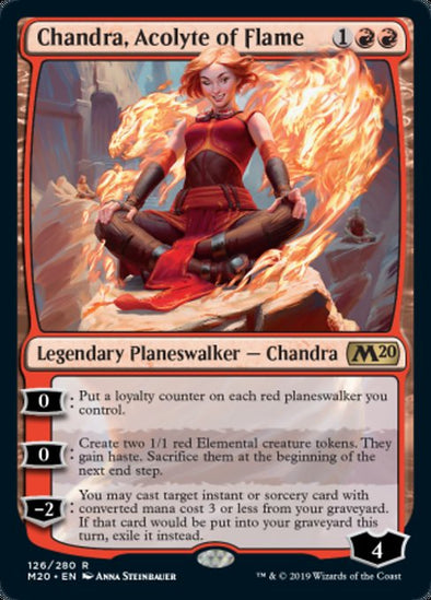 Chandra, Acolyte of Flame (M20) - - 401 Games