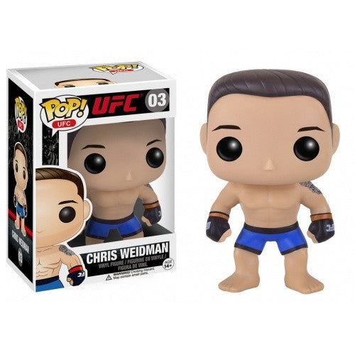 Buy Pop! UFC - Chris Weidman and more Great Funko & POP! Products at 401 Games