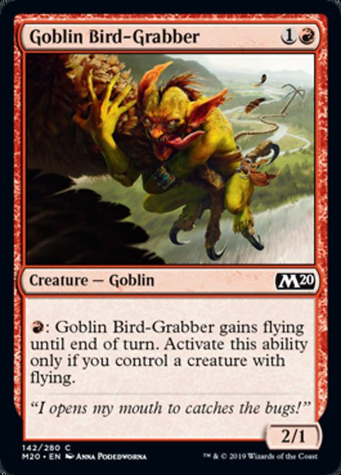 Goblin Bird-Grabber (M20) available at 401 Games Canada