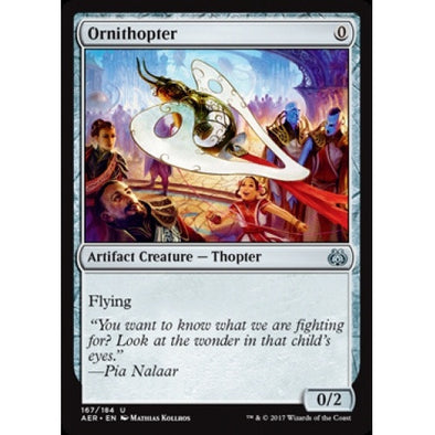 Ornithopter (AER) available at 401 Games Canada