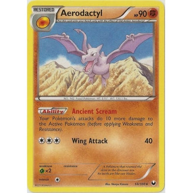 Buy Aerodactyl - 53/108 and more Great Pokemon Products at 401 Games