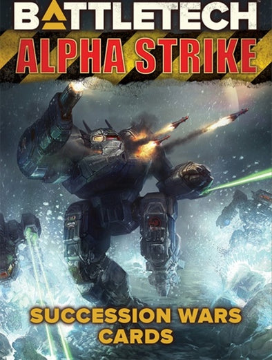 Battletech - Alpha Strike - Succession Wars Cards available at 401 Games Canada