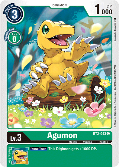 Agumon (BT2-043) available at 401 Games Canada