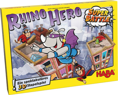 Buy Rhino Hero - Super Battle and more Great Board Games Products at 401 Games