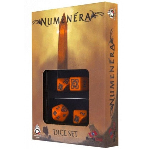 Dice Set - Q-Workshop - 4 Piece Set - Numenera available at 401 Games Canada