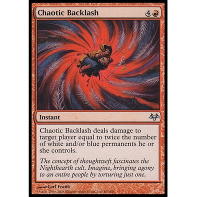 Chaotic Backlash (EVE) - 401 Games