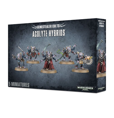 Buy Warhammer 40,000 - Genestealer Cults - Acolyte Hybrids and more Great Games Workshop Products at 401 Games