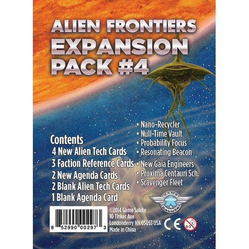 Alien Frontiers - Expansion Pack 4 - 401 Games