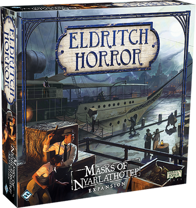 Eldritch Horror - Mask of Nyarlathotep (Pre-Order) - 401 Games