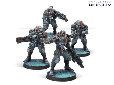 Infinity - Combined Army - Morat Vanguard Infantry available at 401 Games Canada