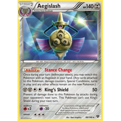 Buy Aegislash - 86/146 - Reverse Foil and more Great Pokemon Products at 401 Games