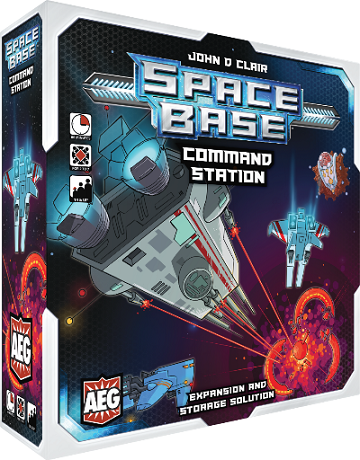 Buy Space Base - Command Station (Pre-Order) and more Great Board Games Products at 401 Games