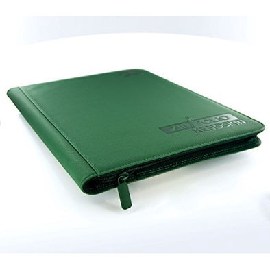 Buy Ultimate Guard - 9 Pocket Xenoskin Zipfolio - Green and more Great Sleeves & Supplies Products at 401 Games