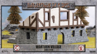 Battlefield in a Box - Wartorn Village - Large Ruin