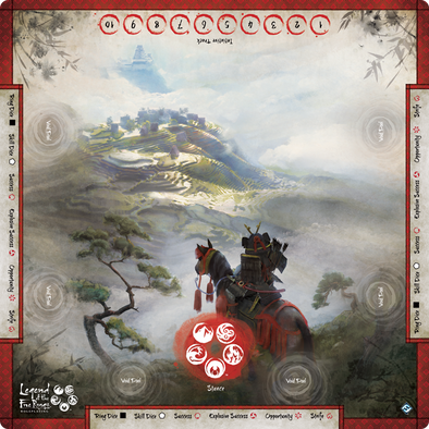 Legend of the Five Rings Roleplaying - Gamemat (Pre-Order)
