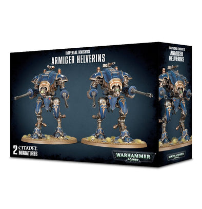 Buy Warhammer 40,000 - Imperial Knights - Armiger Helverins and more Great Games Workshop Products at 401 Games