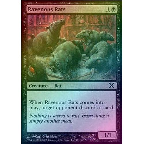 Ravenous Rats (Foil) available at 401 Games Canada