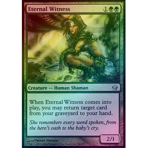 Eternal Witness (Foil) (5DN) - 401 Games