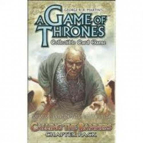 Buy Game of Thrones Living Card Game - Calling the Banners (Old) and more Great Board Games Products at 401 Games