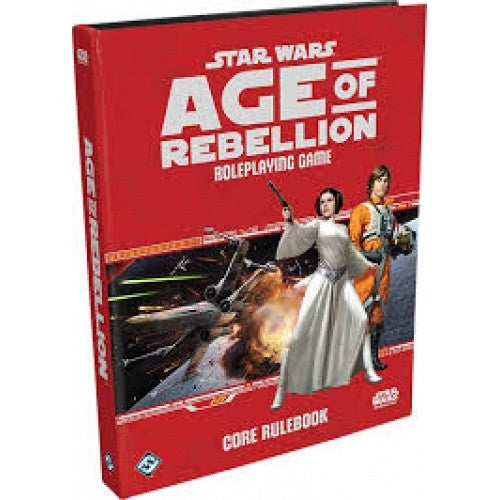 Buy Star Wars: Age of Rebellion - Core Rulebook and more Great RPG Products at 401 Games