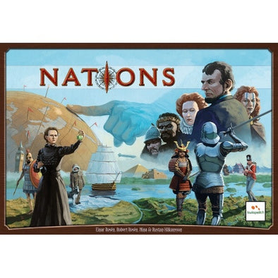 Buy Nations and more Great Board Games Products at 401 Games