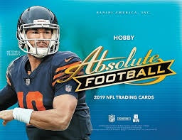 2019 Panini Absolute Football Hobby Box - 401 Games